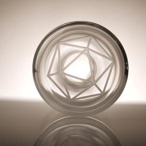 karafa Platon, ručně foukané křišťálové sklo, 1,5 l, 1 450 Kč (včetně DPH)