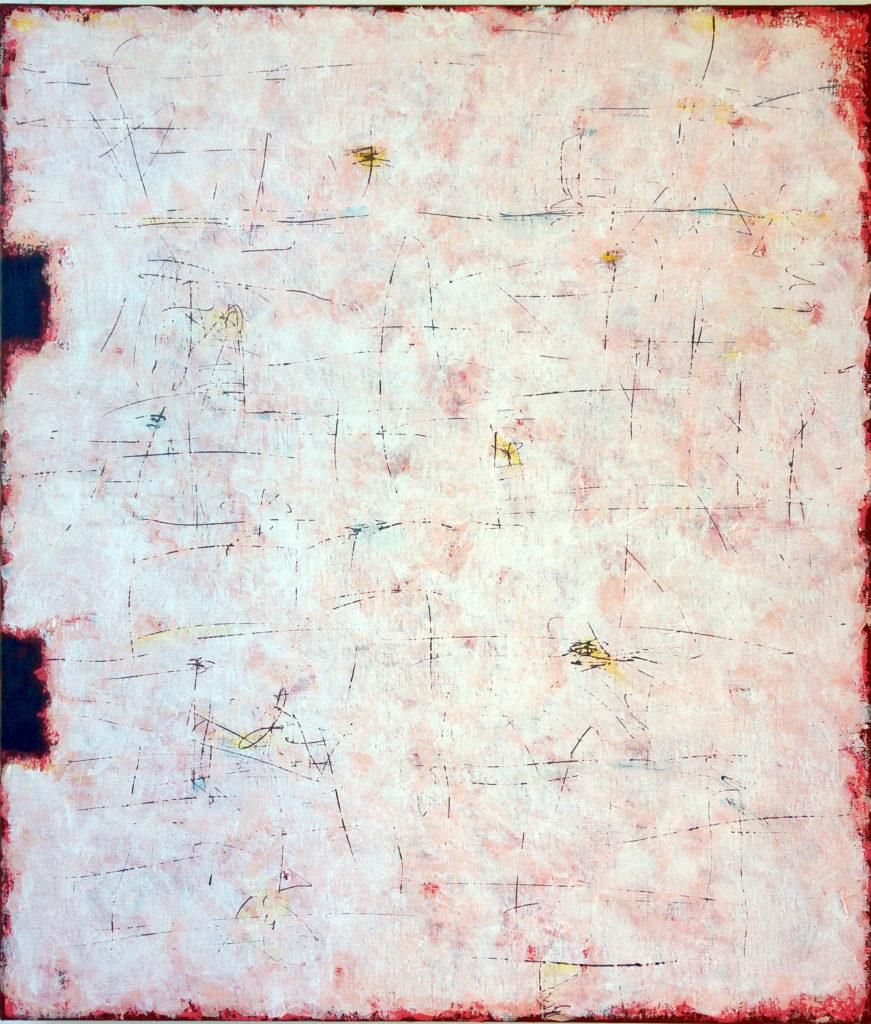 Barevná plocha, 130x110cm, akryl na plátně, 69 000 Kč