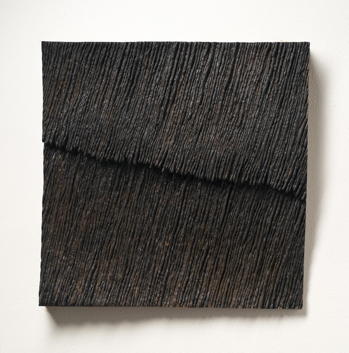Jasan Zoubek, Déšť, 60x60 cm, bronz, 120 000 Kč