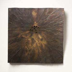 Souhvězdí, 100x100 cm, ocel, 202 000 Kč (bez DPH)