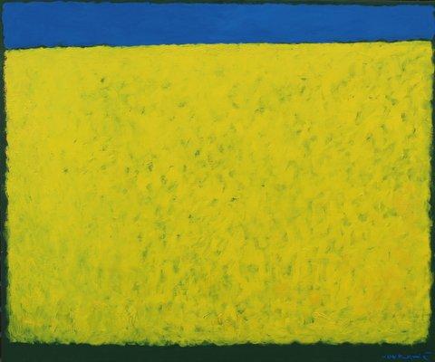 Vlado Vovkanič, Řepkové pole, 100x120 cm, olej na plátně, 57 000 Kč