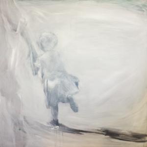 White, 100x100 cm, acrylic on canvas, 19 500 CZK (without VAT)