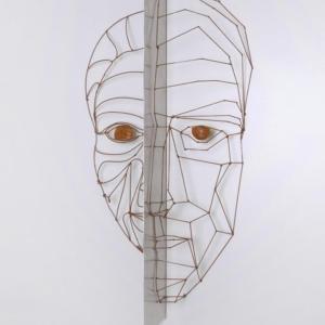 Kráska a On, výška 1,4 m, ocel, 85 000 Kč (bez DPH)