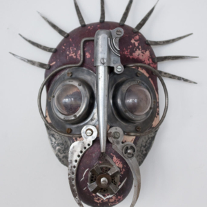 Mask I., steel, glass, 14 500 CZK (without VAT)