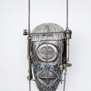 Mask II., steel, glass, 14 500 CZK (without VAT)