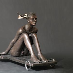 Annanakáře, 2016, bronz, 32 cm x 58 cm x 43 cm, 105 000,- Kč (bez DPH)