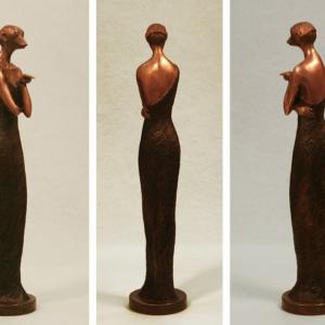 Surikata, 2012, bronz, výška 60 cm, prodáno