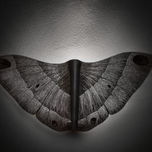 Eva Zoubková, Noční motýl, patinovaný hliník